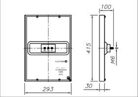 Конфорка чавунна КЕ-0.12 3000 Вт 220 В до професійної електричної плити