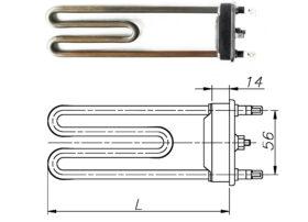 ТЭН 1950-5000 Вт 230 В для бытовой стиральной машины