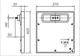 Конфорка чугунная КЭ-0.15 3500 Вт 220 В для профессиональной электрической плиты