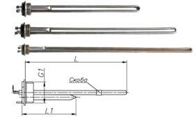 Блок-ТЕН 390-1300 Вт 230 В для алюмінієвих батарей