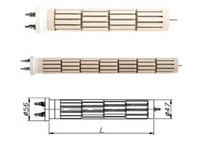 ТЕН керамічний (стеатитовий) до бойлера Drazice, Atlantic 1500-2400 Вт 230 В
