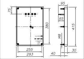 Конфорка чугунная КЭ-0.12Т 3000 Вт 220 В для профессиональной электрической плиты