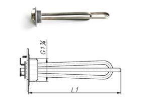 Блок-ТЕН 1200-3000 Вт 230 В до маслянного радіатора