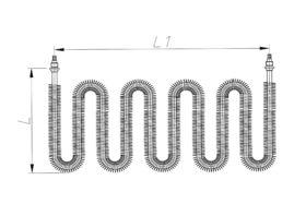 ТЕН 3300-4200 Вт 230/380 В з оребренням